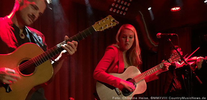 Ashley Campbell live in Berlin
