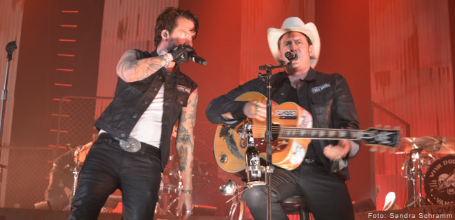 The BossHoss live in Nürnberg