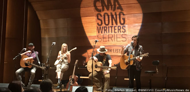 CMA Songwriters Series 2018 in Hamburg