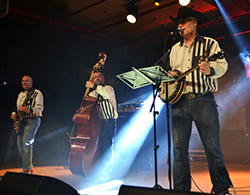 The Lennerockers bei Country Music Meeting 2015