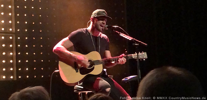 Chase Rice live in Hamburg