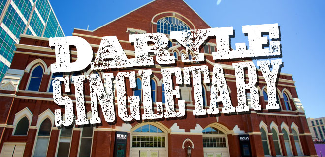 Daryle Singletary Tribute Show im Ryman Auditorium, Nashville