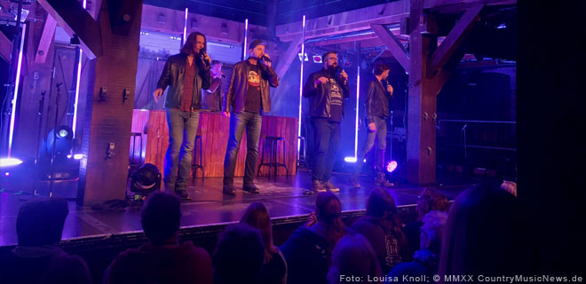 Home Free live in Hamburg