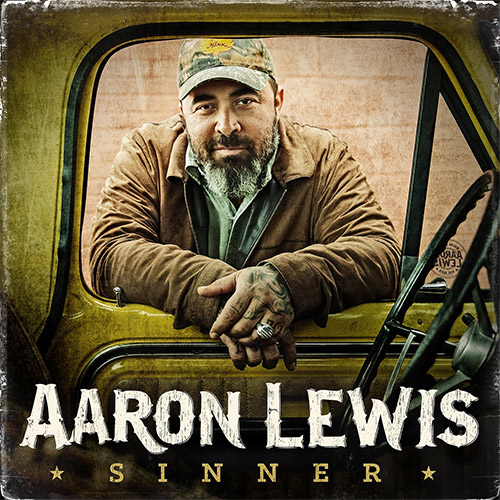 CD Cover: Aaron Lewis - Sinner