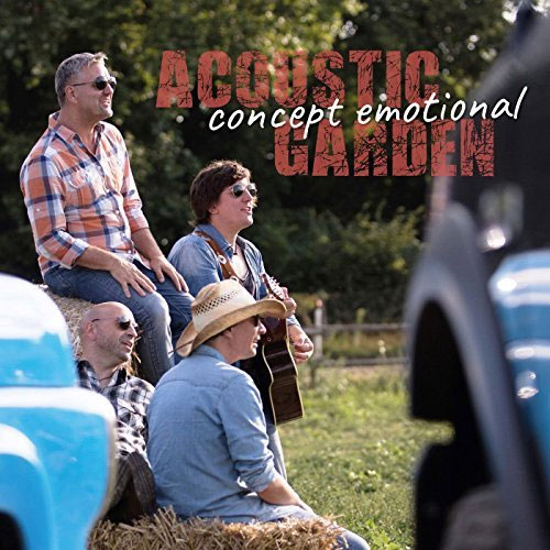 CD Cover: Acoustic Garden - Concept Emotional