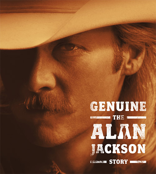 CD Cover: Alan Jackson - Genuine: The Alan Jackson Story