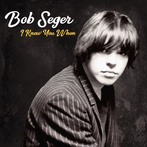 CD Cover: Bob Seger - I Knew You When