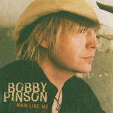 CD Cover Bobby Pinson - Man Like Me