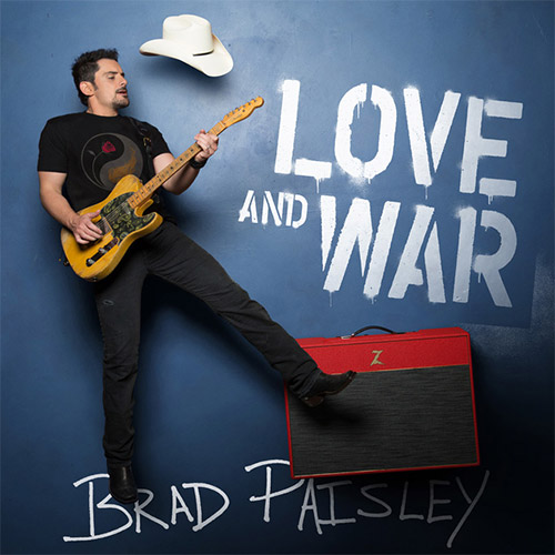 CD Cover: Brad Paisley - Love and War