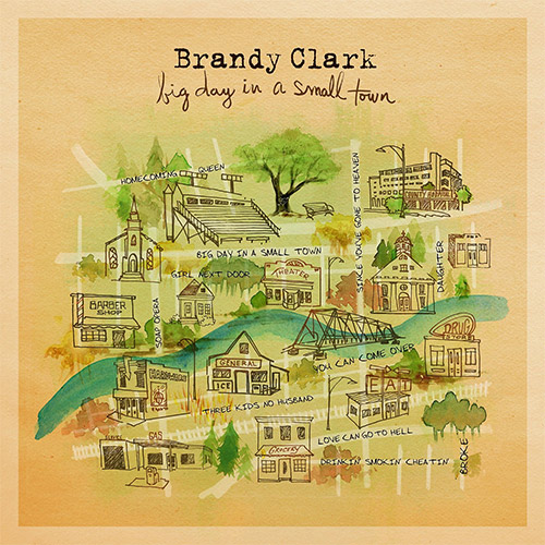 CD Cover: Brandy Clark - Big Day In A Small Town