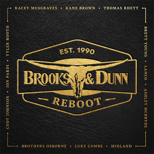 CD Cover: Brooks & Dunn - Reboot