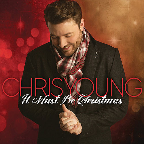 CD Cover: Chris Young - It Must Be Christmas