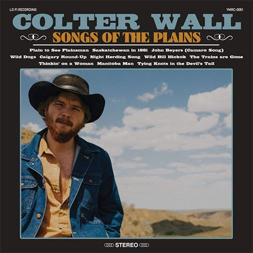 CD Cover: Colter Wall - Songs of the Plain