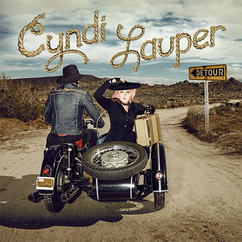 CD Cover: Cyndi Lauper - Detour