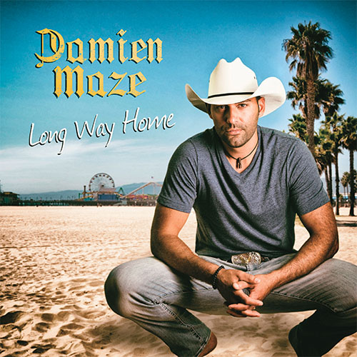 CD Cover: Damien Maze - Long Way Home