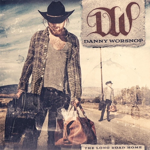 CD Cover: Danny Worsnop - The Long Road Home