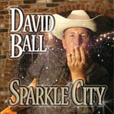 CD Cover: David Ball - Sparkle City