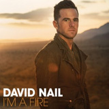 CD Cover: David Nail - I'm a Fire