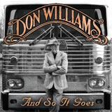 CD Cover: Don Williams - And So It Goes