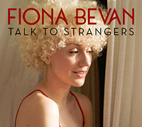 CD Cover: Fiona Bevan - Talk to Strangers