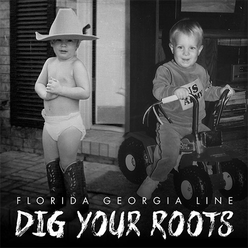 CD Cover: Florida Georgia Line - Dig Your Roots