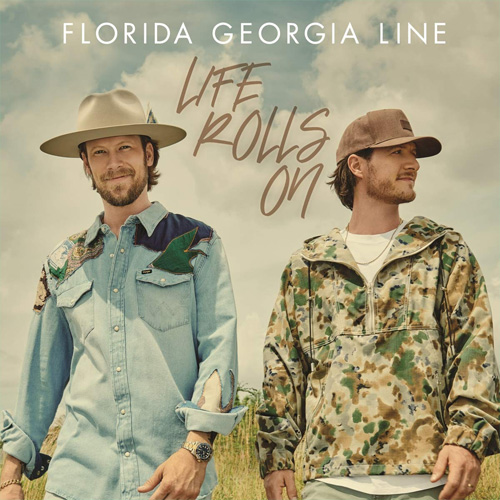CD Cover: Florida Georgia Line - Life Rolls On