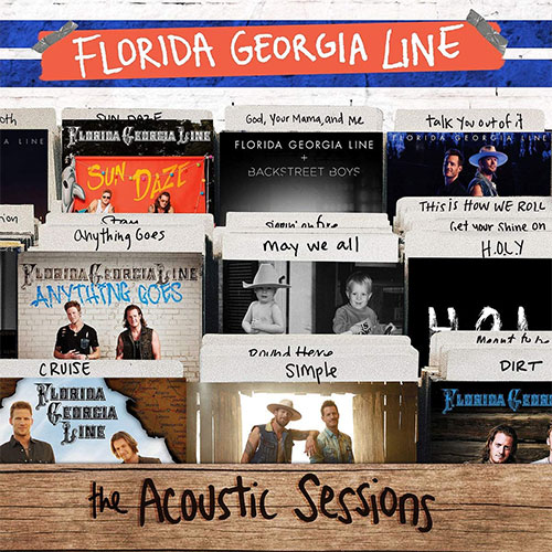 CD Cover: Florida Georgia Line - The Acoustic Sessions