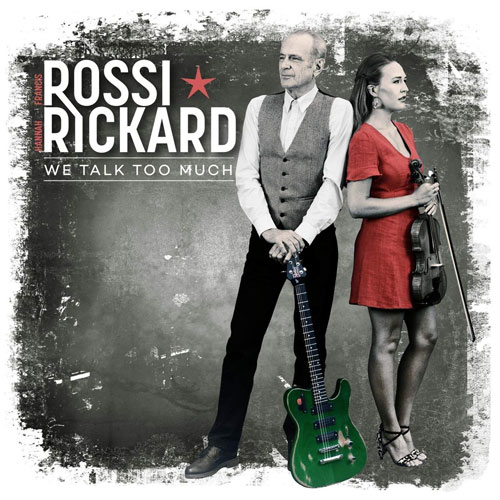 CD Cover: Francis Rossi & Hannah Rickard: We Talk Too Much