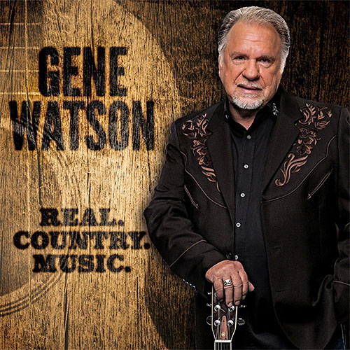 CD Cover: Gene Watson - Real Country Music