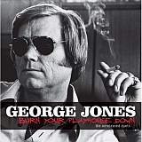 CD Cover George Jones - Burning Your Playhouse Down