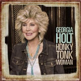 CD Cover: Georgia Holt - Honky Tonk Woman