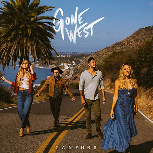CD Cover: Gone West - Canyons
