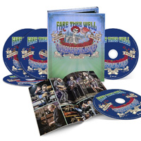 CD Cover: Grateful Dead - Fare Thee Well
