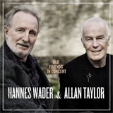 CD Cover: Hannes Wader und Allen Taylor - Old Friends In Concert