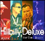 CD Cover: Hillbilly Deluxe - More Bang for the Buck