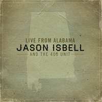 CD Cover: Jason Isbell - Live From Alabama
