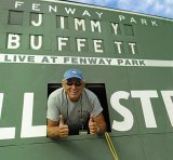 CD Cover Jimmy Buffett - Live at Fenway Park