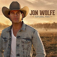 CD Cover: Jon Wolfe - Natural Man