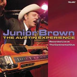 CD Cover Junior Brown - Live at The Continental Club