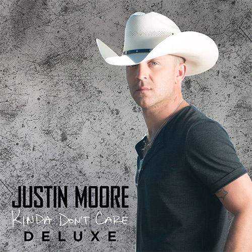 CD Cover: Justin Moore - Kinda Don't Care