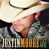 CD Cover: Justin Moore - Outlaws Like Me