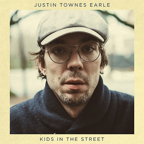 CD Cover: Justin Townes Earle - Kids in the Street