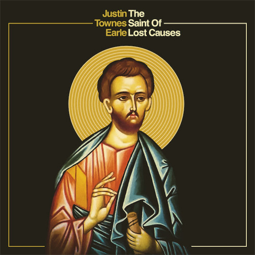 CD Cover: Justin Townes Earle - The Saint of Lost Causes