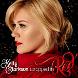 CD Cover: Kelly Clarkson - Wrapped in Red