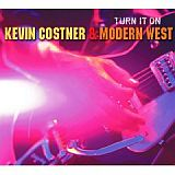 CD Cover: Kevin Costner - Turn It On