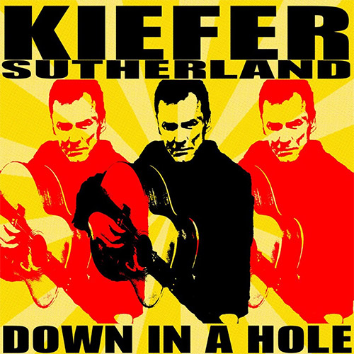 CD Cover: Kiefer Sutherland - Down in a Hole