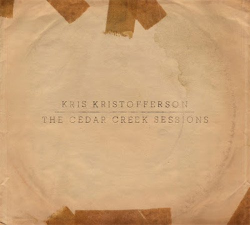 CD Cover: Kris Kristofferson - The Cedar Creek Sessions