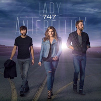 CD Cover: Lady Antebellum - 747