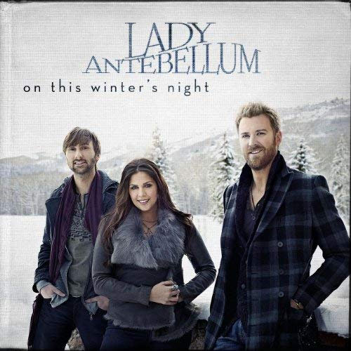 CD Cover: Lady Antebellum - On This Winter's Night