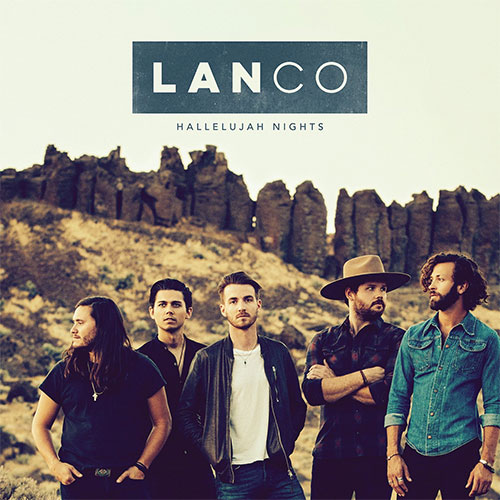 CD Cover: Lanco - Hallelujah Nights